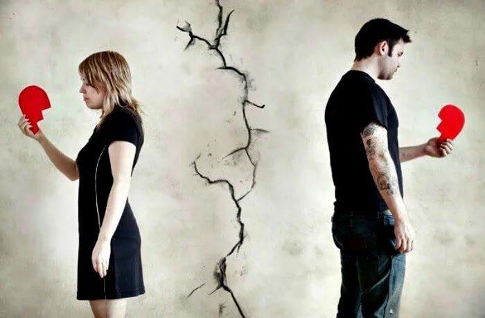 separar amantes para siempre