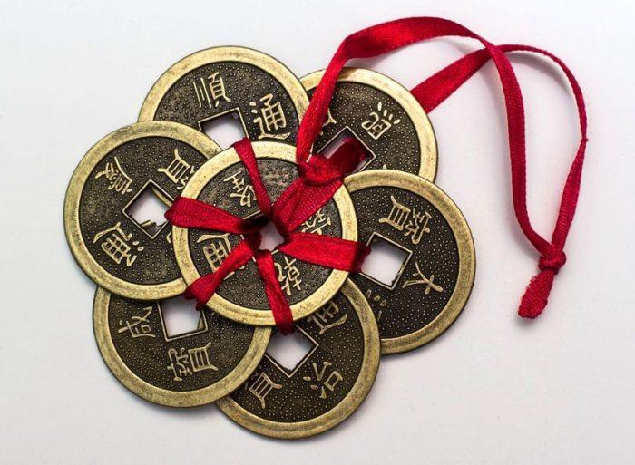 monedas ching