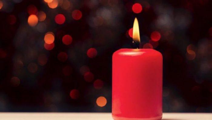 velas rojas