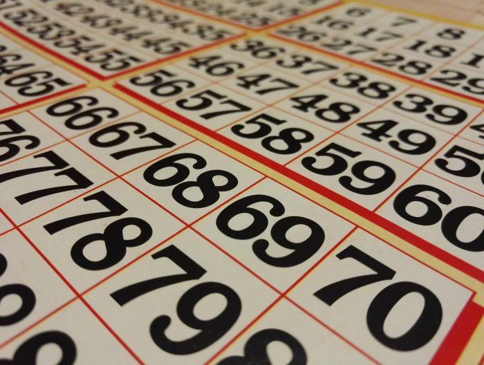 tener suerte en el bingo