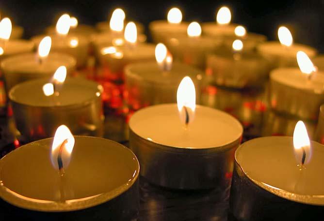 oraciones y velas