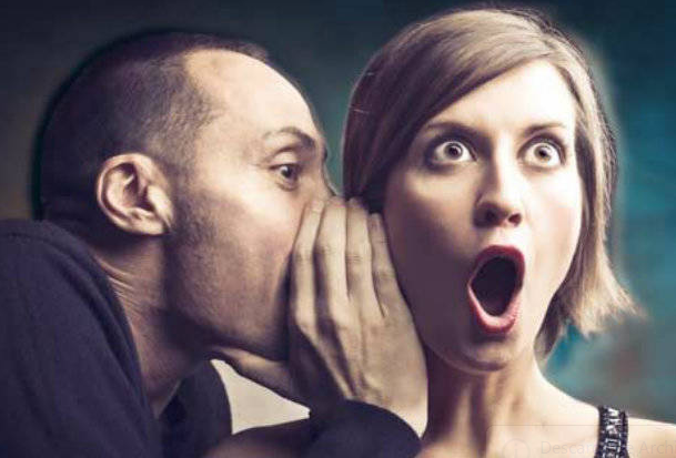 como taparle la boca a una persona chismosa